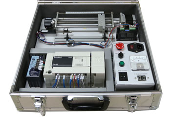 Advanced stepper motor control trainer for Step motors and control systems